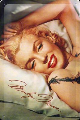 Marilyn Monroe op hoofdkussen 20x30cm