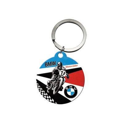 Sleutelhanger rond BMW motorrijder