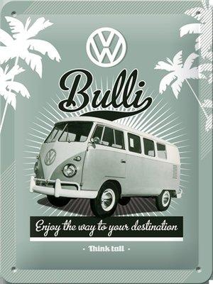 VW Bulli 15x20cm