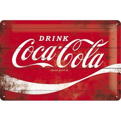 Postcard Coca Cola wave
