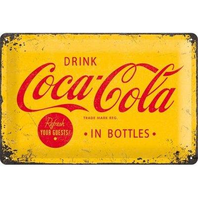 Postcard Coca Cola 1930 Refresh your guests