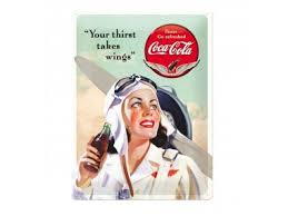 Coca Cola Your thirst takes wings 3D 30x40 cm