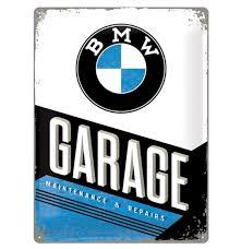 BMW Garage 15x10cm