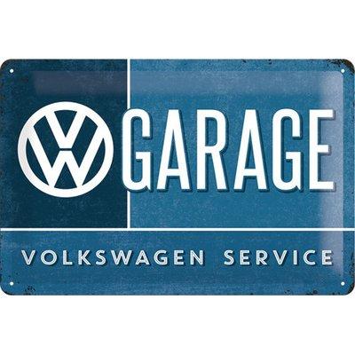 Volkswagen Service 20x30cm