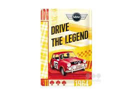 Mini Drive the legend 3D 20x30CM