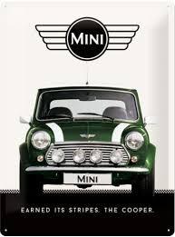 Mini earned its stripes The Cooper 3D 40x30CM