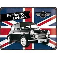 Mini Perfectly British 40x30CM