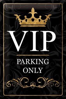 Vip Parking only 3D 20x30CM