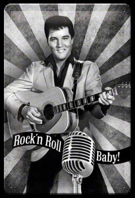 Elvis Prestley Rock'n Roll Baby 3D 20x30CM